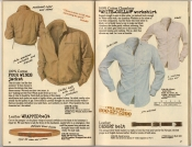 Banana Republic Spring 1987 4 Winds Jacket, White Collar Workshirt, Belts
