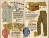 Banana Republic Spring 1987 Naturalist's Shirt, Low-Profile Bag, Men's Outback Pants