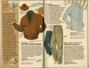 Banana Republic Spring 1987 On-The-Road Jacket, Ticking Shirt, Populist Pants