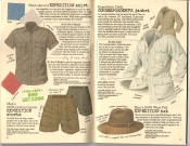 Banana Republic Spring 1987 Expedition Shirt, Shorts, Hat, Correspondent's Jacket