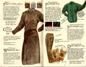 Banana Republic #21 Christmas 1984 Irish Linen Pullover Sweater, Collar Stud Belt, Walking Skirt, Portuguese Flannel Shirt, Sao Paulo Pants, Document Bag