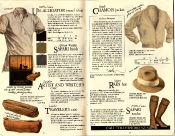Banana Republic #21 Christmas 1984 Un-Alligator Shirt, Gunter Ziesler African Safari Book, Leather Traveler\'s Case, Leather Artist\'s and Writer\'s Case, Edward Thompson Testimonial, Suede Chamois Jacket, Safari Rain Hat, Safari Socks