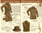Banana Republic #21 Christmas 1984 English Weatherproof Riding Coat, Jacket, Country Vest, Drizzle Hat
