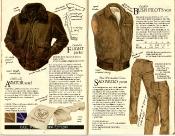 Banana Republic #21 Christmas Goatskin Flight Jacket, Aviator\'s Scarf, Bush vest, Sao Paulo Pants