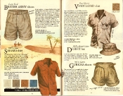 Banana Republic #21  Christmas British Army Shorts, Sahara Shirt, Ventilated Shirt, Deseert Hat, Gurkha Shorts