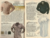 Banana Republic #21  Christmas 1984 Arans Sweater, Ventilated Shirt, Officer\'s Wool Jacket, Artisan\'s Nightshirt