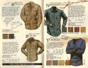 Banana Republic #21 Christmas 1984 Bush Jacket, Bush Shirt, Naturalist's Shirt, Yukon Shirt