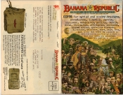 Banana Republic Holiday 1985, Cover, Israeli Paratrooper Bag
