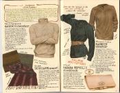 Banana Republic Holiday 1985, Kashmir Sweater, British Scholar's Scarf, Banana Republic Checkbook