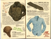 Banana Republic Holiday 1985, Flight Jacket, Flight Helmet, Swedish Army Tie, White Collar Workshirt
