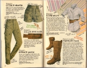 Banana Republic Holiday 1985, Collar Stud Belt, Traveling Boots, Outback Pants, Outback Shorts, Fjord Shirt