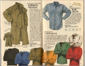 Banana Republic Holiday 1985, Bushman's Raincoat, Bush Shirt, Yukon Shirt