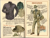 Banana Republic Holiday 1985, Expedition Shirt, French Army Bush Hat, Newshawk Gift Type
