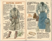 Banana Republic Holiday 1985, Mother Earth Gift Type, Ticking Shirt, Naturalist's Skirt, Ox Horn Bracelets