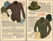 Banana Republic Holiday 1985, French Cafe Shirt, Safari Hat, Designer's Shirt