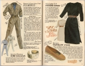 Banana Republic Holiday 1985, Flightsuit, Save-the -Elephant Horn Bracelet, Weekend Dress, Traveling Shoes, Kitty Banner, Testimonial