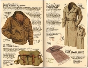 Banana Republic Holiday 1985, Foul-Weather Jacket, Mr. Brady's Traveler's Bag, Handcrafted Trenchcoat, Glen Plaid Scarf