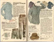 Banana Republic Holiday 1985, Ticking Shirt, Kenya Convertibles, Naturalist's Shirt, Traveler's Roll-Up Hat, Gerald Durrel, Testimonial