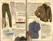 Banana Republic Holiday 1985, Fatigue Pants, Army Air Corps Scarf, Army Air Corps Jacket, Bombay Shirt