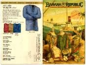 Banana Republic Catalog 17 Winter 1984 Cover, Yukon Shirt