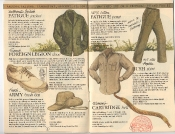 Banana Republic Catalog 17 Winter 1984, British Fatigue Jacket, Bush Hat, Bush Shirt, Foreign Legion Shoe, Cartridge Belt