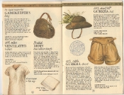 Banana Republic Catalog 17 Winter 1984, Gamekeeper's Bag, British Army Handerchiefs, Ventilated T-Shirt, Gurkha Hat, Gurkha Shorts