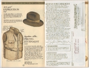 Banana Republic Catalog 17 Winter 1984, Expedition Hat, Photojournalist's Vest