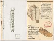 Banana Republic Catalog 17 Winter 1984, Ventilated Bush Shirt, Sahara Sneaker