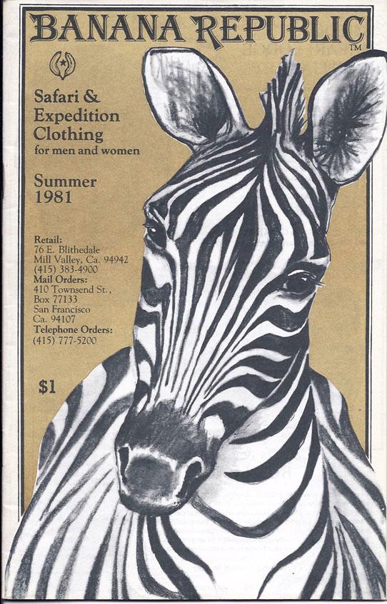 Banana Republic Summer 1981 by Patricia Ziegler