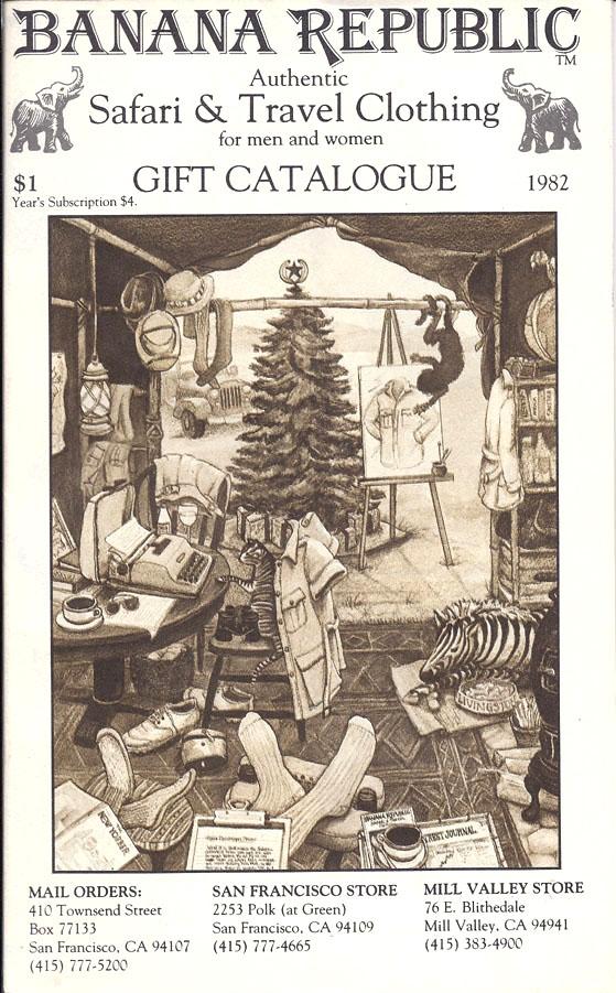 Banana Republic 1982 Gift Catalog by Patricia Ziegler