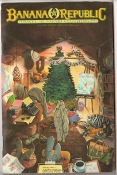 Banana Republic Catalog Holiday Update 1986 Cover by Jacklyn Scardova