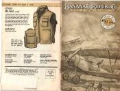 Banana Republic Catalog #15 Fall 1983 Hooded Bush Vest