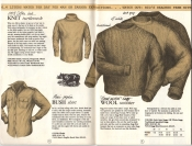 Banana Republic Catalog #15 Fall 1983 Knit Turtleneck, Bush Shirt, Hand-Picked Ragg Wool Sweater
