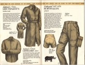 Banana Republic Catalog #15 Fall 1983 French Lieutenant\'s Raincoat, French Officer\'s Shirt, Survivalon Pants