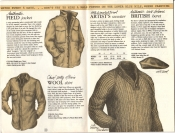 Banana Republic Catalog #15 Fall 1983 Field Jacket, Petty Officer\'s Wool Shirt, Artist\'s Sweater, British Beret