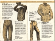 Banana Republic Catalog #15 Fall 1983 Naturalist's Shirt, Traveller's Wool Pants, Safari Jacket, Safari Pants
