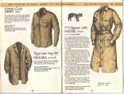 Banana Republic Catalog #15 Fall 1983 Women\'s Dutch Army Shirt, Sahara Smock, Safari Dress