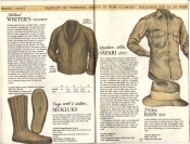 Banana Republic Catalog #15 Fall 1983 Writer\'s Sweater, Mukluks, Safari Shirt, Safari Rain Hat