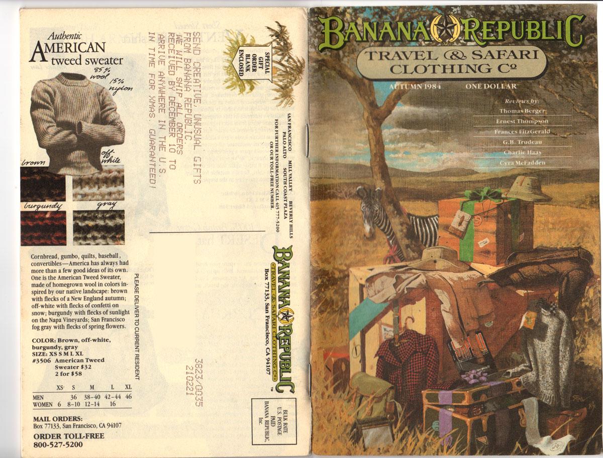 Banana Republic Fall UPDATE 1984