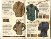 Banana Republic Fall UPDATE 1984 Bush Jacket, Bush Shirt, Naturalist's Shirt, Yukon Shirt
