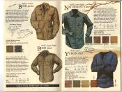 Banana Republic Fall UPDATE 1984 Bush Jacket, Bush Shirt, Naturalist\'s Shirt, Yukon Shirt