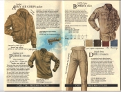 Banana Republic Fall UPDATE 1984 Army Air Corps Jacket, Fatigue Sweater, Bombay Shirt, Drill Trousers