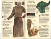 Banana Republic Fall UPDATE 1984 Irish Linen Pullover, Walking Skirt, Flannel Shirt, Women\'s Sao Paulo Pants, Document Bag