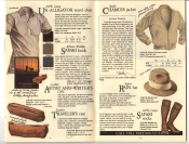 Banana Republic Fall UPDATE 1984 Un-Alligator Shirt, Artist and Writer's Case, Traveler's Case, Chamois Jacket, Safari Rain Hat, Safari Socks