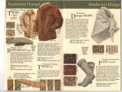 Banana Republic Fall UPDATE 1984 Donegal Tweed Jacket, Sportaman's Hat, Tweed Tie, Donegal Shawl, Foot Cozies