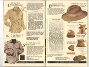 Banana Republic Fall UPDATE 1984 Chamois Shirt, Safari Shirt, Australian Fur Felt Bushman\'s Hat,