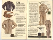 Banana Republic Fall UPDATE 1984 RAF Sweater, Swedish Bandolier, Women's Safari Shirt, Safari Dress, Traveler's Tropical Wool Pants,