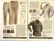 Banana Republic Fall UPDATE 1984 Tropical Wool Pants, Australian Outback Shirt, Platonic Shirt