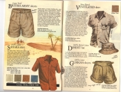 Banana Republic Fall UPDATE 1984  British Army Shorts, Sahara Shirt, Ventilated Shirt, Desert Hat, Gurkha Shorts