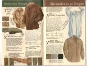 Banana Republic #20 Fall 1984 Donegal Tweed Jacket, Sportaman's Hat, Tweed Tie, Ventilated Shirt, Artisan's Nightshirt